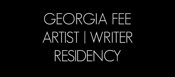 Georgia Fee Artist/Writer Residency