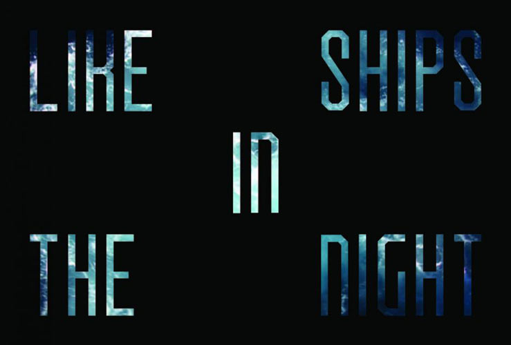 Like ships in the night by Caroline Monnet