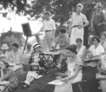 Stone City Art Colony Painting Class, ca. 1932-33