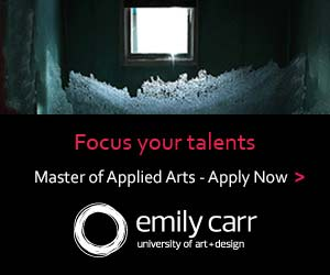 Emily Carr Univerisity Master of Applied Arts