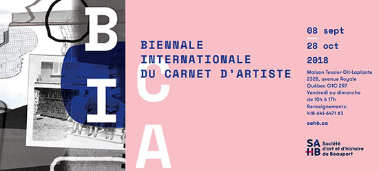 BICA (Biennale Internationale du Carnet d'Artiste) Call for Artist Sketchbooks