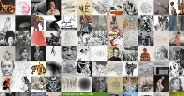 INDA 13 The 13th International Drawing Annual  A Juried Annual Publication of Works of Recent Drawing