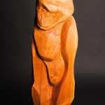 Tobias Luttmer, Pensive, Medium Hemlock, Height 50 in