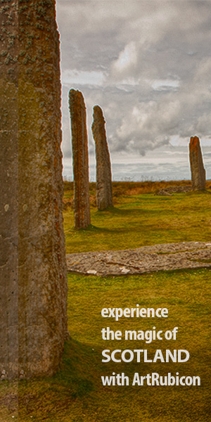 Experience the magic of Scotland with ArtRubicon.