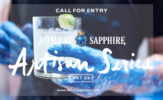 CALL FOR SUBMISSIONS: BOMBAY SAPPHIRE ARTISAN SERIES