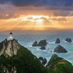 Nugget Point Lighthouse, Mike Isaak